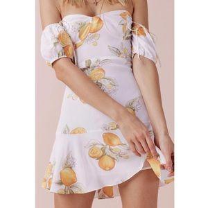 For love & lemons lemonada dress